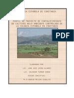 Fortalecimiento de Cultivos en Areas Naturales