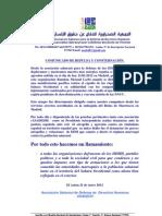 Comunicado en repulsa por la agresión a Ramdan Mesaud