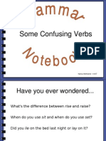 Troublesome Verbs Blog Test