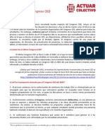 Informativo Congreso CED