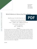 Ralph Blumenhagen et al- Hybrid Inflation in Intersecting Brane Worlds