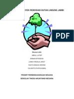 Proposal Proyek Reboisasi Hutan Lindung Jambi