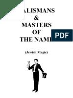 Talismans Jewish Magic