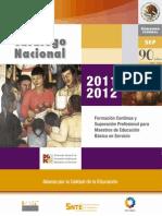 CATALOGO NACIONAL 2011-2012