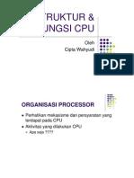 2 - Struktur Dan Fungsi CPU