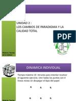 Unidad 2 Cambios de Paradigma y La Calidad Total