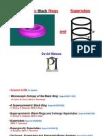 David Mateos- Supersymmetric Black Rings and Supertubes
