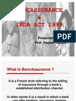 Bancassurance & Irda Act[1]