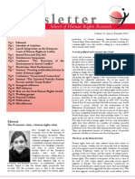 School of Human Rights December Newsletter