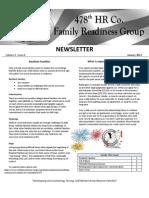 Newsletter January 2012