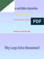 Valeri P. Frolov- Black Holes and Hidden Symmetries