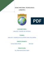 Analisis y Diseño