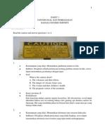 3. Soal Dan Pembahasan Bahasa Inggris Paket 3