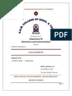 Accelerometer Seminar Report
