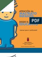 Maltrato Infantil Manual Para El Profesional