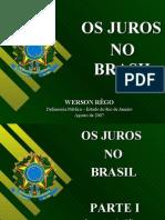 Juros No Brasil
