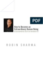 How to Become Extraordinary Human Being eBook Sample