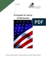Espanol_El Lenguaje de Amway_El Diccionario
