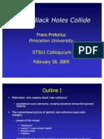 Frans Pretorius- When Black Holes Collide