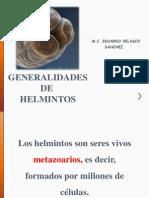 GENERALIDADES DE HELMINTOS