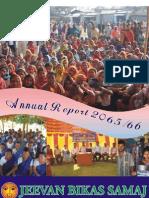 Jeevan Bikas Annual Report 2065_66