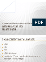 Return of the XSS Jedi