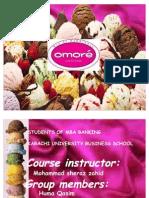 4p's of Omore Ice Cream