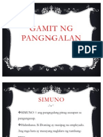 Gamit at Kaukulan Ng Pangngalan Gr6