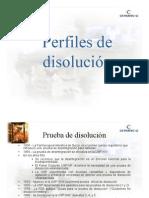 Perfiles de Disolucion Cetratec Dra. Redondo