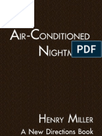 Henry Miller - The Air-Conditioned Nightmare