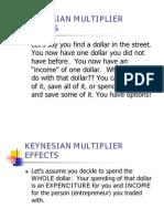 Keynesian Multiplier Effects