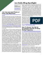 Consumer News Daily Blog Spotlight