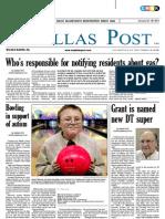 The Dallas Post 01-22-2012