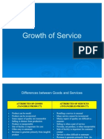 Growth of Service