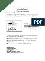 LVDT Sensors
