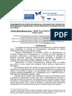 EPI no Ácido Peracético desinfecção Alto Nivel