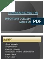 Maths Final Ppt
