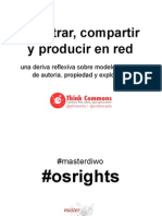 Think Commons | registrar, compartir y producir en red. Deriva reflexiva sobre modelos abiertos