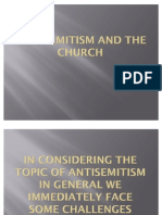Antisemitism and the Church