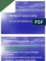 Membuat Basis Data