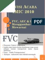 divisi acara imic