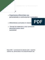 Curriculum Diferentiat Si Personalizat