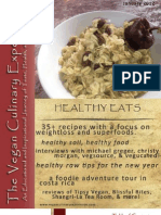 Vegan Culinary Experience [January 2012]