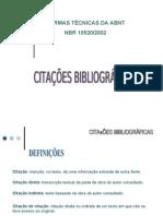 Normas para Citação Bibliográfica