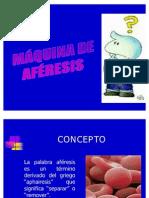 MÁQUINA DE AFÉRESIS