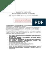 Equipo Autonomo -Manual de Operacion