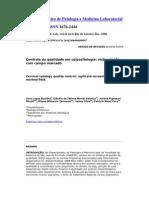 Controle da qualidade em colpocitologia visão rápida com campo marcado