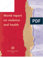 World Report of Violence