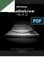 Studio Live Manual Forweb