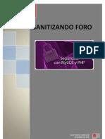 Proyecto F2-Sanitizar el Foro de PHP